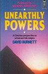 Unearthly Powers - David Burnett