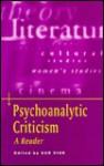 Psychoanalytic Criticism: A Reader - Sue Vice