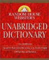 Random House Webster's Unabridged Dictionary: Indexed (Book Only Edition) - Random House