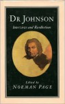 Dr. Johnson: Interviews And Recollections - Samuel Johnson