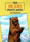 Six Bears Postcards - Lisa Bonforte