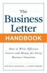 Business Letter Handbook - Michael Muckian, John Woods