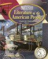Literature of the American People : American Literature II (Classics for Christians, Volume 4) - Jan Anderson, Laura Hicks