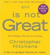 God Is Not Great: How Religion Poisons Everything (Audio) - Christopher Hitchens