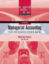 Managerial Accounting, Working Papers: Tools for Business Decision Making - Jerry J. Weygandt