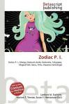 Zodiac P. I. - Lambert M. Surhone, VDM Publishing, Susan F. Marseken