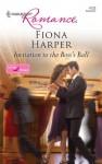 Invitation to the Boss's Ball - Fiona Harper