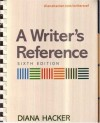 Writer's Reference 6e & MLA Quick Reference Card (Plastic Comb) - Diana Hacker, Barbara Fister
