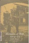 Marc Bloch: Memoirs of War, 1914-15 - Marc Bloch