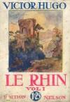 Le Rhin, tome 1 - Victor Hugo