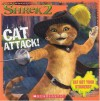 Shrek 2: Cat Attack! (8x8 Storybook W/ Stickers) - David Cody Weiss, Bobbi J.G. Weiss