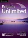 English Unlimited Pre-Intermediate, B1 - Alex Tilbury, Theresa Clementson, Leslie Anne Hendra, David Rea