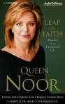 Leap of Faith: Memoirs of an Unexpected Life (Audio) - Queen Noor, Suzanne Toren