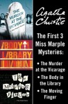 Marple Bundle (The Murder at the Vicarage / The Body in the Library / The Moving Finger) - Agatha Christie