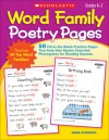 Word Family Poetry Pages: 50 Fill-in-the-Blank Practice Pages That Help Kids Master Essential Phonograms for Reading Success - Kama Einhorn