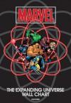 Marvel: The Expanding Universe Wall Chart - Michael Mallory