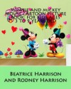 Minnie and Mickey Mouse Cartoon Picture Book: For Kids Ages 3 to 9 Years Old - NOT A BOOK