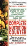 The Complete Nutrition Counter - Lynn Sonberg