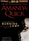 Burning Lamp (Arcane Society, #8) - Anne Flosnik, Amanda Quick