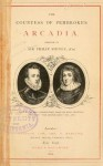 The Countess of Pembroke's Arcadia - Philip Sidney