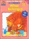 Bear Bbh Write On/Wipe Off Stencil Wkbk - Belong - Bendon Publishing
