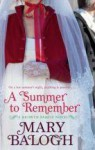 A Summer to Remember (Bedwyn Prequels, #2) - Mary Balogh