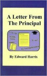 A Letter from the Principal - Ed Harris
