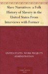 Slave Narratives: a Folk History of Slavery in the United States From Interviews with Former Slaves: Volume XVI, Texas Narratives, Part 4 - United States. Work Projects Administration