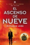 El ascenso de Nueve (Legados de Lorien, #3) - Pittacus Lore