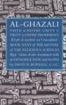 Al-Ghazali on Faith in Divine Unity and Trust in Divine Providence - Abu Hamid al-Ghazali, David B. Burrell