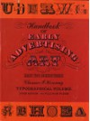 Handbook of Early Advertising Art: Typographical Volume - Clarence P. Hornung