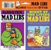 Mad Libs Halloween; Night of the Living Mad Libs/Monster Mad Libs, Vol. 1 - Roger Price, Leonard Stein, Leonard Stern