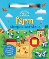 Wipe-Clean Farm: Shapes and Sizes: With Pen and Wipe-Clean Fold-out Pages (Wipe-Clean Playbooks) - Ben Adams, Sarah Pitt, Jeanette O'Toole