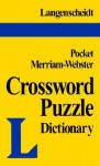 Pocket Crossword Puzzle Dictionary - Langenscheidt