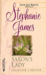 Saxon's Lady - Stephanie James