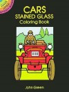 Cars Stained Glass-Coloring Book - NOT A BOOK