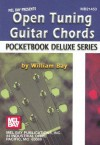 Mel Bay Open Tuning Guitar CHords, Pocketbook Deluxe - William Bay