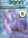 A Professional Approach Series: Office 2000 Advanced Course Student Edition - Deborah Hinkle, Kathleen Stewart