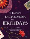 The Element Encyclopedia of Birthdays - Theresa Cheung