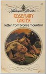 Letter from Bronze Mountain - Rosemary Carter