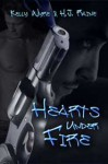 Hearts Under Fire - Kelly Wyre, H.J. Raine
