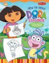 How to Draw Nick Jr.'s Dora the Explorer - Walter Foster Publishing, Russell Spina