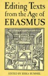 Editing Texts from the Age of Erasmus - Erika Rummel