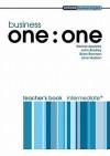 Business One:One Intermediate Teacher's Book - Rachel Appleby, John Bradley, Brian Brennan, Jane Hudson