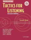 Developing Tactics for Listening Teacher's Book - Sue Brioux Aldcorn, Deborah Gordon, Andrew Harper, Lisa A. Hutchins, Jack C. Richards