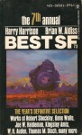 Best SF 1973 - Brian W. Aldiss, Michael Bishop, Robert Silverberg, R.A. Lafferty, Robert Sheckley, Gene Wolfe, Harry Harrison, Thomas M. Disch, Kingsley Amis, Max Beerbohm, Anthony Haden-Guest, Theodore R. Cogswell, Leland Fetzer, Steven Utley, Kenneth Bernard, Theodore L. Thomas, Jose