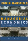 Managerial Economics - Edwin Mansfield