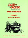 Land Rover Parts Catalog Ser 1 1948-53 - Brooklands Books Ltd