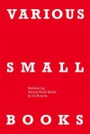 Various Small Books: Referencing Various Small Books by Ed Ruscha - Phil Taylor