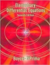 Elementary Differential Equations 7e with Differential Equations with Mathematica 2e Set - William E. Boyce